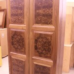 Custom Walnut Jewelry Armoire