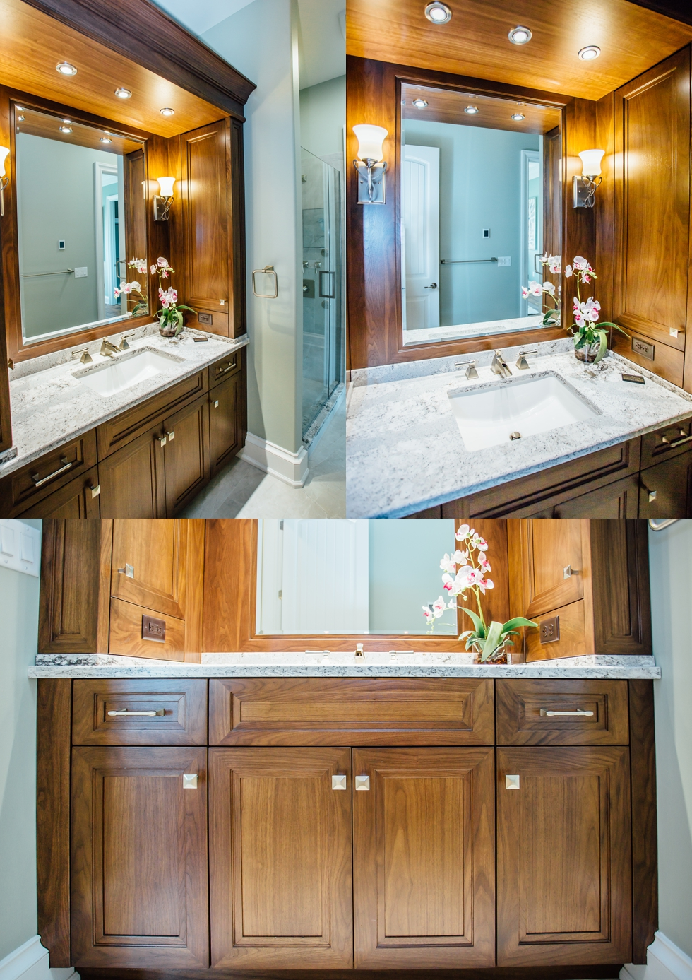 bathroom vanities - western new york custom cabinetry & millwork